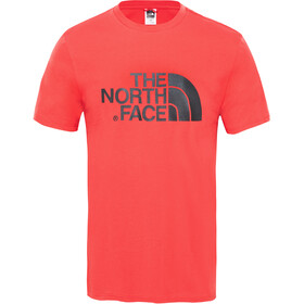 The North Face Easy S/S Tee Herre salsa red